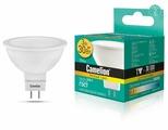 Лампа светодиодная Camelion 11367, GU5.3, JCDR, 3Вт