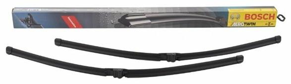 Щетка стеклоочистителя бескаркасная BOSCH Aerotwin A942S 650 мм / 650 мм, 2 шт.