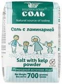 Гарнец Водорослевая соль с ламинарией поваренная, 700 г