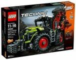 Электромеханический конструктор LEGO Technic 42054 Мощный трактор Claas Xerion 5000