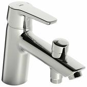 Однорычажный смеситель для ванны с душем Oras Saga 3946F