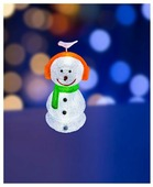 Фигурка NEON-NIGHT Снеговик в наушниках 60 см