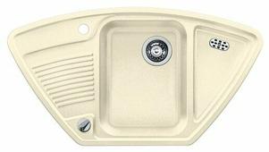 Врезная кухонная мойка Blanco Classic 9E Silgranit PuraDur