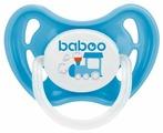 Пустышка латексная классическая baboo Transport 0+ м (1 шт.)