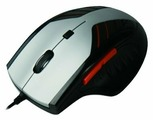 Мышь Aneex E-M0702 Silver-Black USB