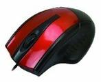 Мышь Aneex E-M483 Red-Black USB