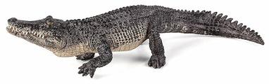 Фигурка Mojo Wildlife Аллигатор с подвижной челюстью 387168