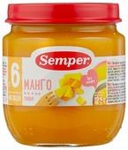 Пюре Semper манго (с 6 месяцев) 125 г, 1 шт