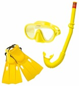 Набор для плавания с ластами Intex Master Class