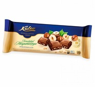 Шоколад Kalev молочный с дробленым лесным орехом 30%