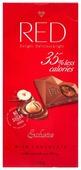 Шоколад Red Delight молочный с ореховой начинкой