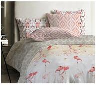 Постельное белье евростандарт Mona Liza Japanese Flamingo 70х70 см, ранфорс