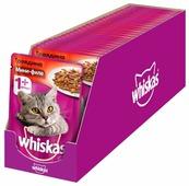 Корм для кошек Whiskas с говядиной 85 г (мини-филе)