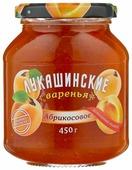 Варенье Лукашинские абрикосовое, банка 450 г
