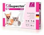 Inspector Mini Капли от блох, клещей и гельминтов для кошек и собак
