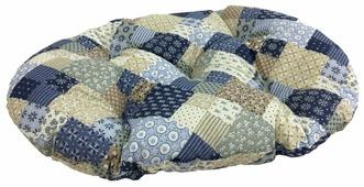 Подушка для кошек, для собак Бобровый Дворик Пэчворк №4 82х54 см