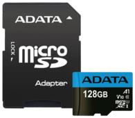 Карта памяти ADATA Premier microSDXC UHS-I U1 V10 A1 Class10 + SD adapter