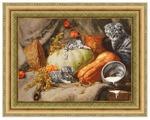 Золотое Руно Набор для вышивания Теплое местечко (по мотивам картины Е. Калиновской) 41 х 56 см (СЖ-055)