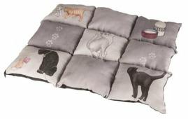 Лежак для кошек TRIXIE Patchwork (37074) 55х45 см
