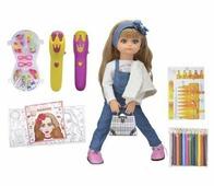 TONG DE Интерактивная кукла Tongde Алиса с микрофоном и аксессуарами, T23-D6074