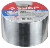 Клейкая лента алюминиевая ЗУБР 12262-75-50, 75 мм x 50 м