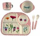 Комплект посуды Nobvan Цветочки феи