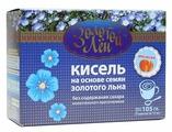 Кисель ВИТАПРОМ Золотой лен на льняной основе Апельсин 7 шт. по 15 г