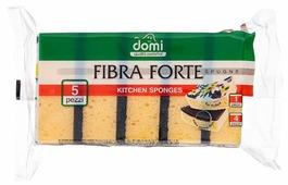 Губка кухонная Domi Fibra forte 5 шт