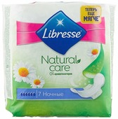 Libresse прокладки Natural Care Goodnight