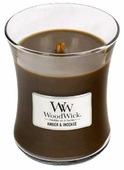 Свеча WoodWick Amber & Incense (92041), средняя