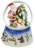 Снежный шар Lefard Новогодний музыкальный 175-110