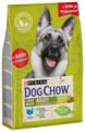 Корм для собак DOG CHOW для здоровья кожи и шерсти, индейка (для крупных пород)