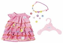 Zapf Creation Платье и ободок для куклы Baby Born 824481