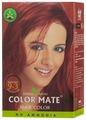 Хна Color Mate травяная краска для волос, тон 9.3 burgundy