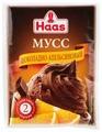 Смесь для десерта Haas шоколадно-апельсинового 65 г