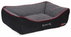 Лежак для собак Scruffs Thermal Box Bed M 60х50 см