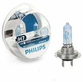 Лампа автомобильная галогенная Philips H7 3700K White Vision 12V 55W 2 шт.