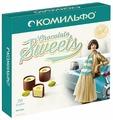 Набор конфет Комильфо Фисташка с двухслойной начинкой 232 г