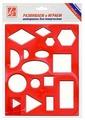 Луч Трафарет пластик (12С836-08)