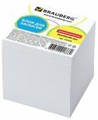 BRAUBERG Блок для записей непроклеенный, куб 9х9х9 см (122340)