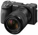 Фотоаппарат Sony Alpha ILCE-6600 Kit