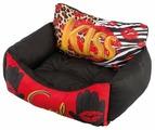 Лежак для кошек, для собак Ferplast Royal 80 (81014030C) 78х56х28 см