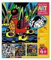 Айрис-Пресс Набор бархатных раскрасок. Фантастические птицы. 3 основы