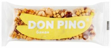Ореховый батончик PIKKI Don Pino Банан 35 г 1 шт