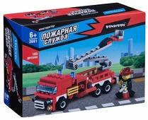 Конструктор BONDIBON Пожарная служба ВВ3661 Пожарная машина