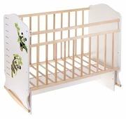Кроватка Волжская деревообрабатывающая компания Морозко (качалка)