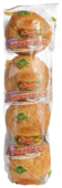 Псковский Хлебокомбинат Булочка для гамбургера с кунжутом 160 г