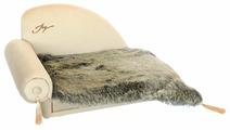 Диван для собак Joy с пледом (2КУВ00148) 60х40х40 см