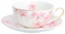 Elan gallery Чайная пара Цветущая розовая сакура 220 мл