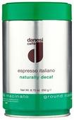 Кофе молотый Danesi Decaf